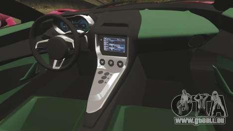 Jaguar C-X75 [EPM] pour GTA 4 est un côté