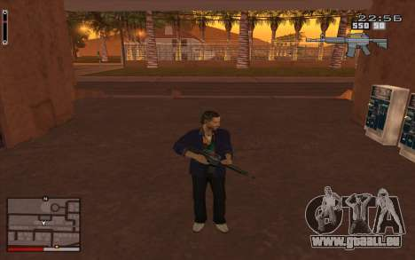 C-HUD GTA 5 für GTA San Andreas