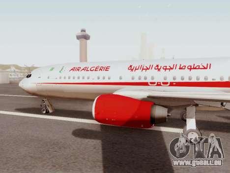 Boeing 737-800 Air Algerie pour GTA San Andreas laissé vue