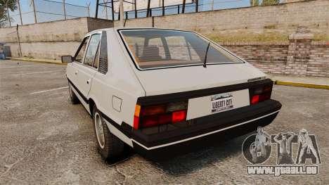 FSO Polonez 1500 für GTA 4 hinten links Ansicht