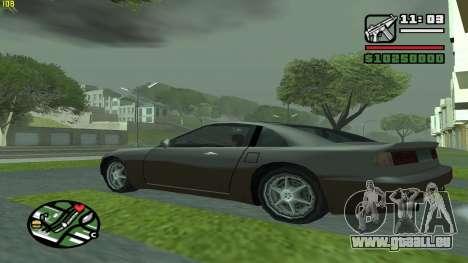 Weather Menu pour GTA San Andreas troisième écran