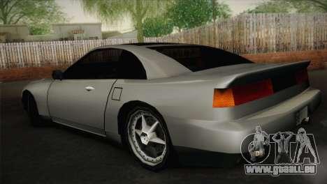 New Euros V1 pour GTA San Andreas laissé vue
