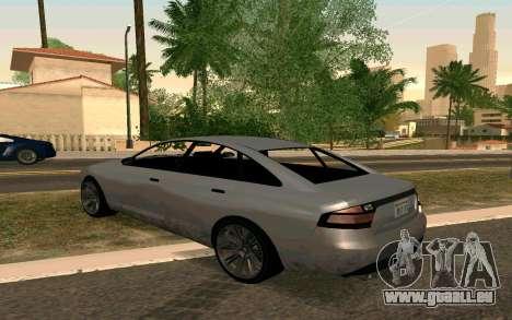 GTA V Obey Tailgater für GTA San Andreas linke Ansicht