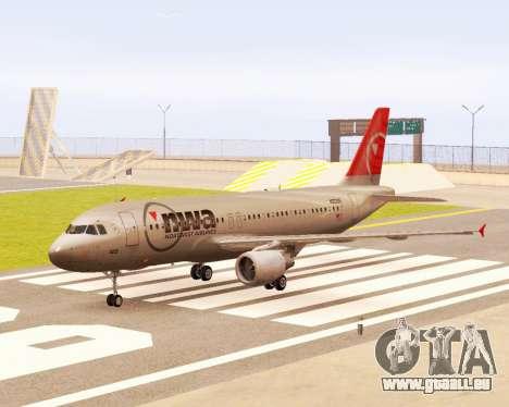 Airbus A320 NWA für GTA San Andreas