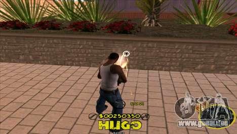 C-HUD Vagos by Hugo für GTA San Andreas dritten Screenshot