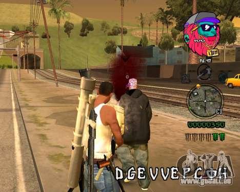 C-HUD Lion für GTA San Andreas