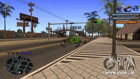 C-HUD Light pour GTA San Andreas sixième écran