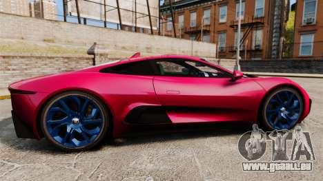 Jaguar C-X75 [EPM] pour GTA 4 est une gauche