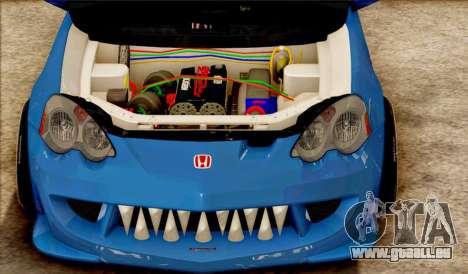 Honda Integra Mugen Type R für GTA San Andreas linke Ansicht