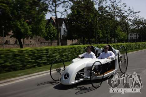 Boot-screens Mercedes-Benz F-CELL Roadster für GTA 4 neunten Screenshot