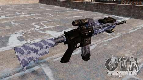 Fusil automatique Colt M4A1 pour GTA 4 secondes d'écran