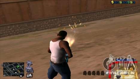 C-HUD Chien WOW pour GTA San Andreas troisième écran