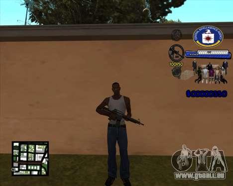 C-HUD C.I.A pour GTA San Andreas