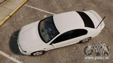 Ford Falcon XR8 Police Unmarked [ELS] pour GTA 4 est un droit
