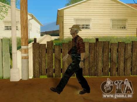 Agriculteur ou modifiée et complétée pour GTA San Andreas dixième écran