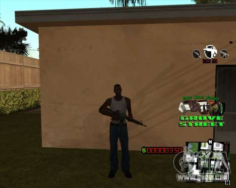 C-HUD West Side Grove Street pour GTA San Andreas