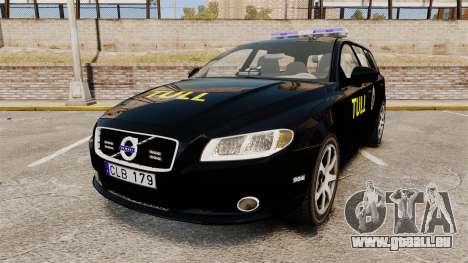 Volvo V70 Swedish TULL [ELS] für GTA 4