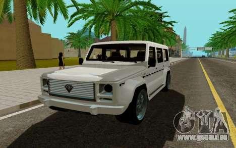 Benefactor DUBSTA für GTA San Andreas