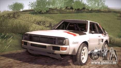 Audi Sport Quattro 1984 pour GTA San Andreas