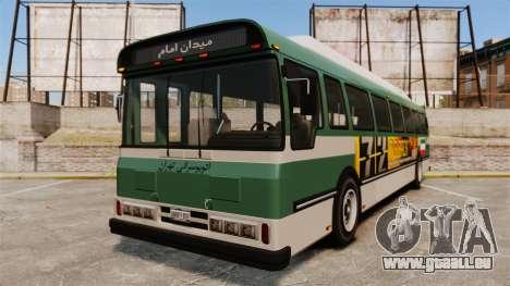 Iranische Farbe bus für GTA 4