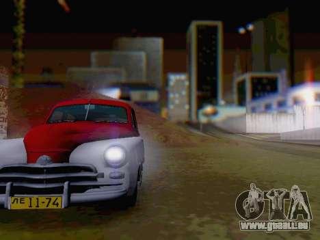 GAZ M-20 Pobeda pour GTA San Andreas vue intérieure