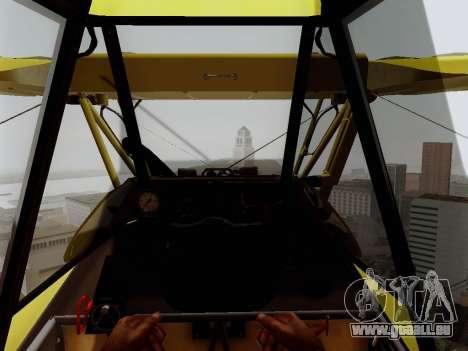 Grumman G-164 AgCat pour GTA San Andreas vue de côté