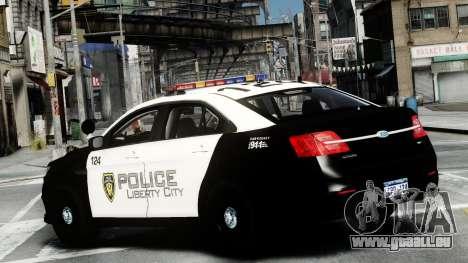 Ford Police Interceptor LCPD 2013 [ELS] für GTA 4