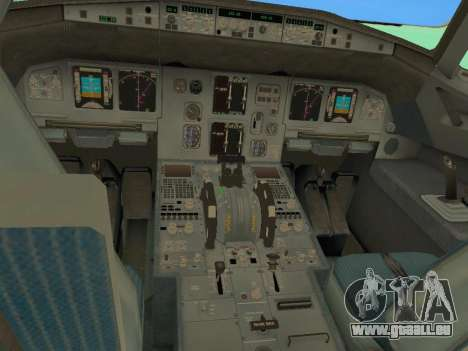 Airbus A320-200 Aer Lingus pour GTA San Andreas salon