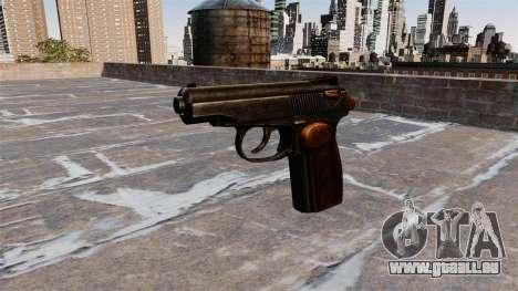 Die Makarov-Pistole für GTA 4 dritte Screenshot