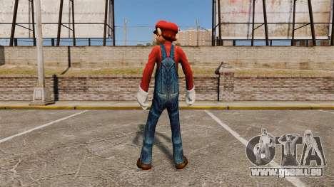Mario pour GTA 4 secondes d'écran