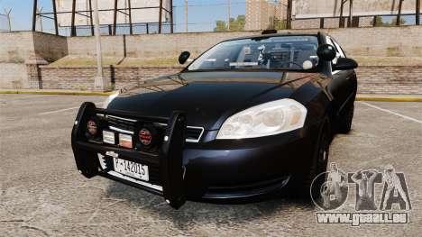 Chevrolet Impala 2010 LS Unmarked K9 Unit [ELS] pour GTA 4
