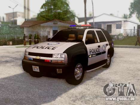 Chevrolet TrailBlazer Police für GTA San Andreas