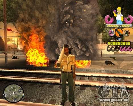 C-HUD Mr. Simpson für GTA San Andreas zweiten Screenshot