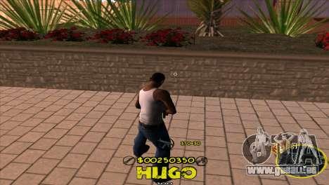 C-HUD Vagos by Hugo pour GTA San Andreas deuxième écran