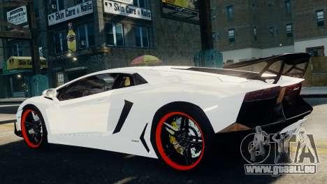 Lamborghini Aventador LP720-4 2012 pour GTA 4 est une gauche