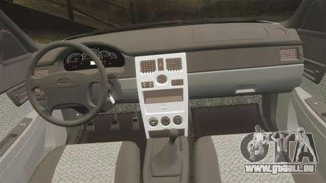 ВАЗ-Lada Priora 2170 v2.0 für GTA 4 Seitenansicht