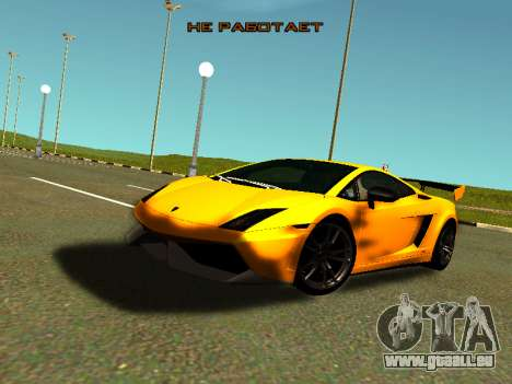 Lamborghini Gallardo Super Trofeo Stradale pour GTA San Andreas