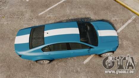 GTA V Cheval Fugitive new wheels pour GTA 4 est un droit