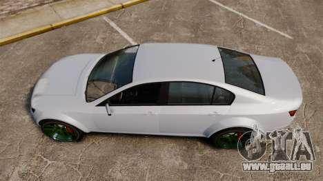 GTA V Cheval Fugitive new wheels für GTA 4 rechte Ansicht