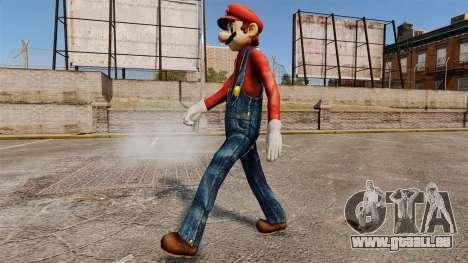 Mario pour GTA 4 troisième écran