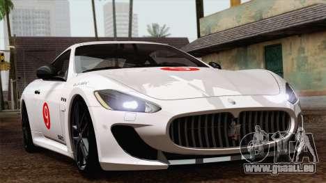 Maserati GranTurismo MC Stradale für GTA San Andreas rechten Ansicht