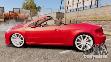 Peugeot 308 CC pour GTA 4 est une gauche
