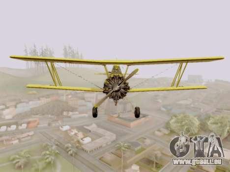 Grumman G-164 AgCat pour GTA San Andreas laissé vue
