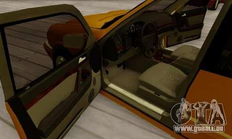 Mercedes-Benz E320 Wagon für GTA San Andreas obere Ansicht