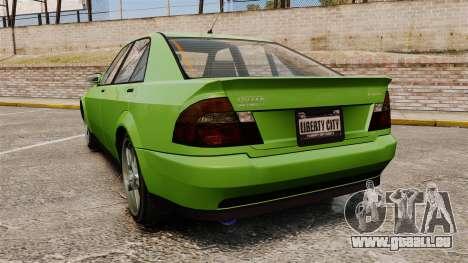 Sultan New Wheel pour GTA 4 Vue arrière de la gauche