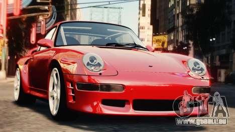 RUF CTR2 1995 für GTA 4 Rückansicht