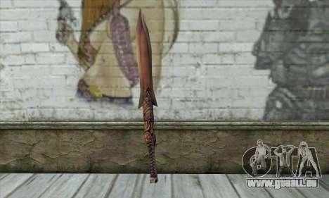 Schwert für GTA San Andreas