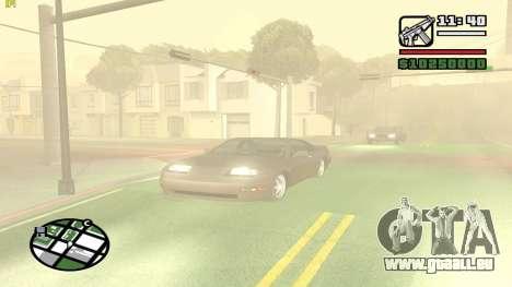 Weather Menu pour GTA San Andreas quatrième écran