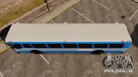 Brute Bus Japanese Police [ELS] pour GTA 4 est un droit