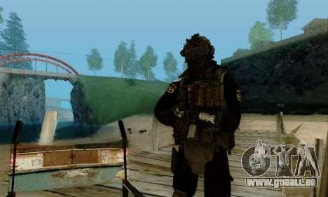 Kopassus Skin 2 pour GTA San Andreas septième écran